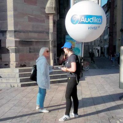 Street marketing strasbourg audika