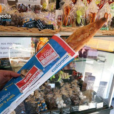 sac à pain publicitaire castorama