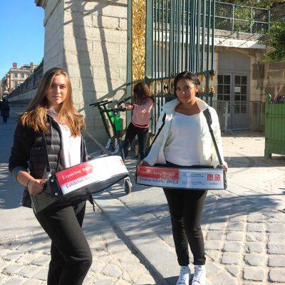 Distribution de flyers Paris