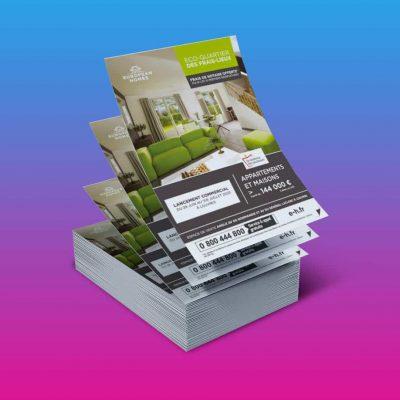 flyers promoteur immobilier